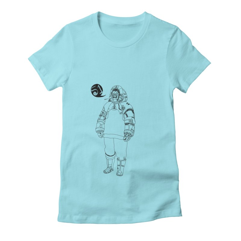 Inuit51weeks Women's Fitted T-Shirt by 51brano's Artist Shop