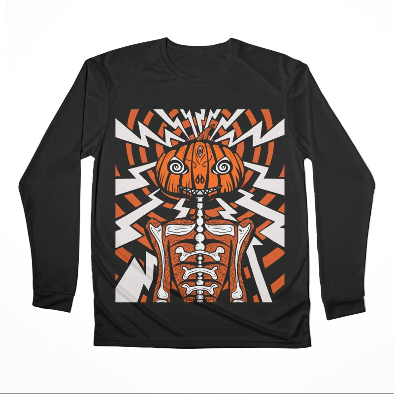 Mr Hypno-Pumpkin Men's Longsleeve T-Shirt by 57WEST