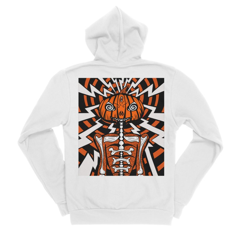 Mr Hypno-Pumpkin Women's Zip-Up Hoody by 57WEST