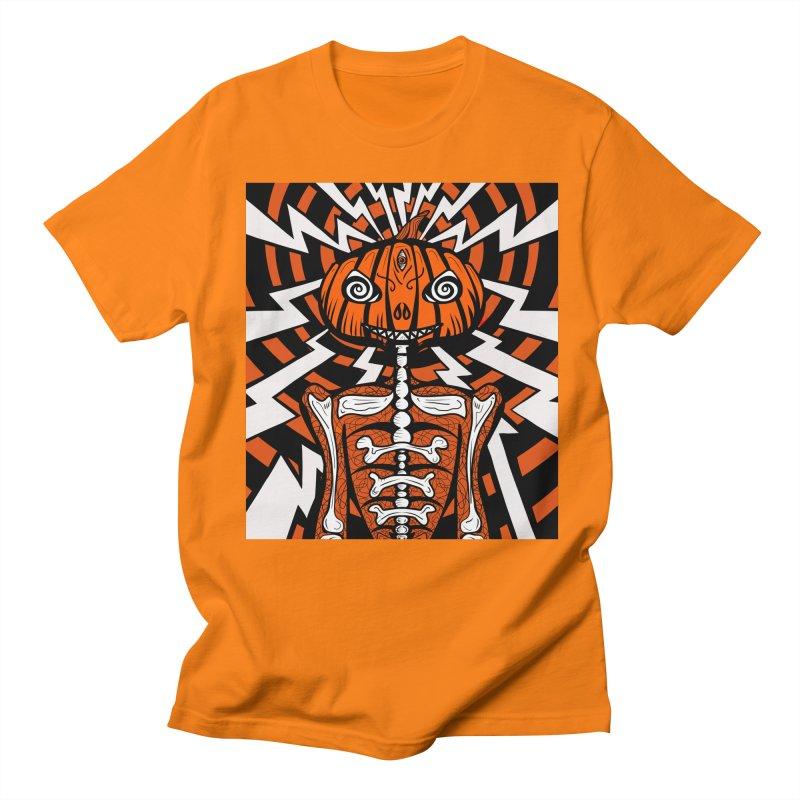 Mr Hypno-Pumpkin Men's T-Shirt by 57WEST