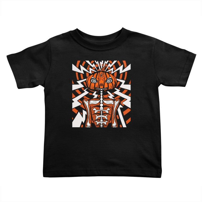 Mr Hypno-Pumpkin Kids Toddler T-Shirt by 57WEST