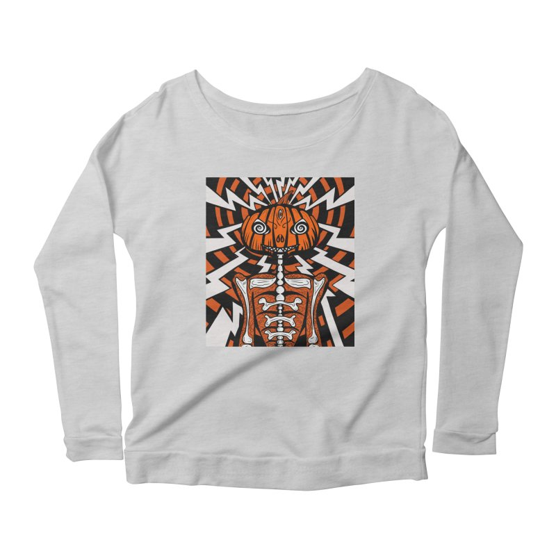 Mr Hypno-Pumpkin Women's Longsleeve T-Shirt by 57WEST