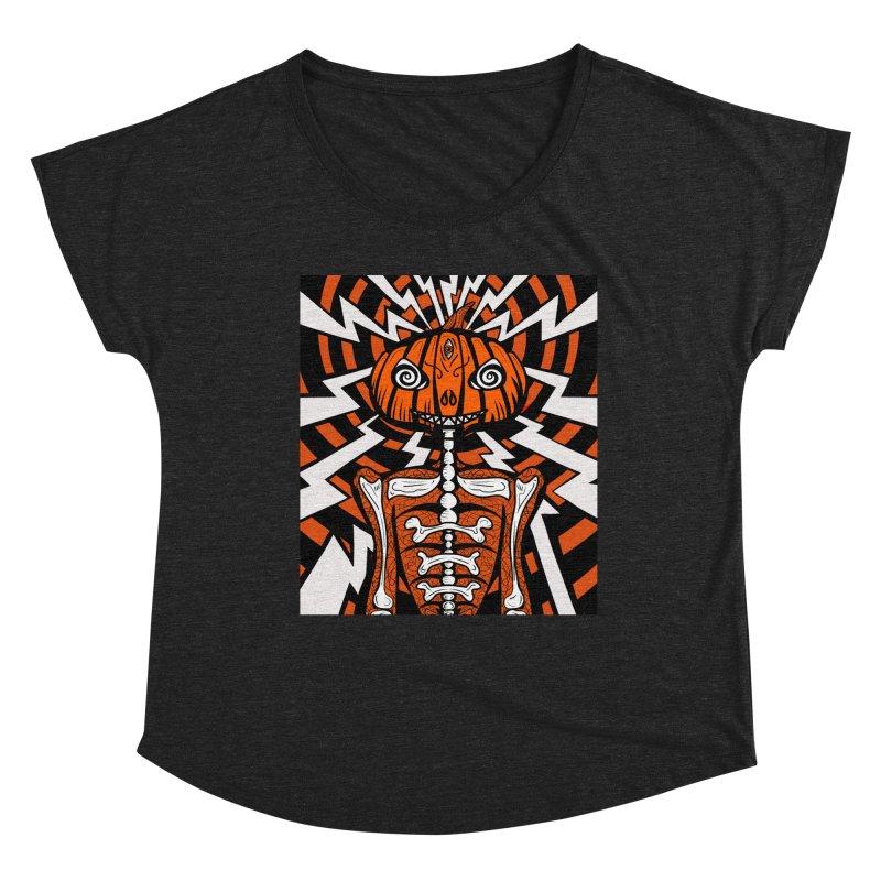 Mr Hypno-Pumpkin Women's Scoop Neck by 57WEST