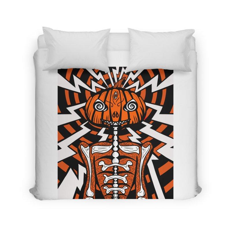 Mr Hypno-Pumpkin Home Duvet by 57WEST