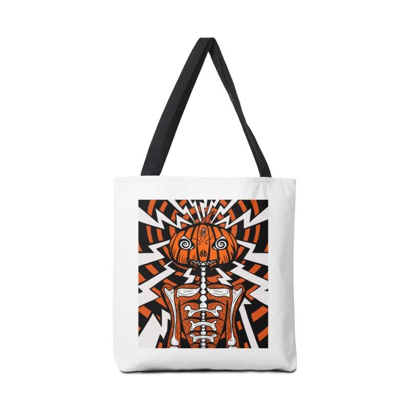 Mr Hypno-Pumpkin Accessories Bag by 57WEST