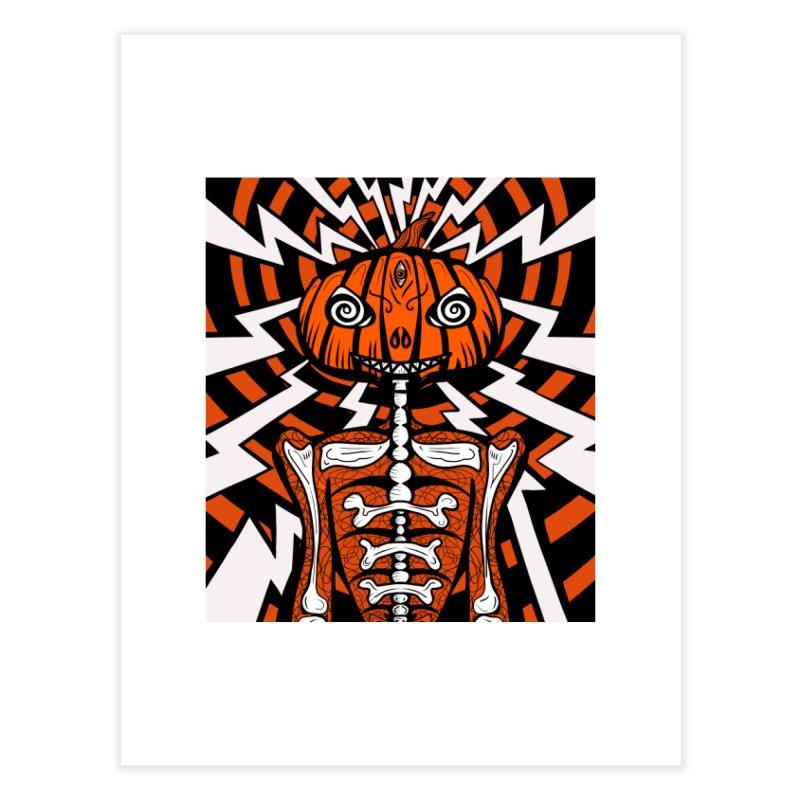 Mr Hypno-Pumpkin Home Fine Art Print by 57WEST