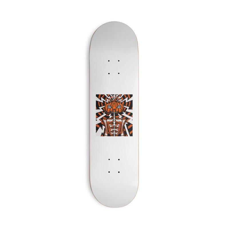 Mr Hypno-Pumpkin Accessories Skateboard by 57WEST
