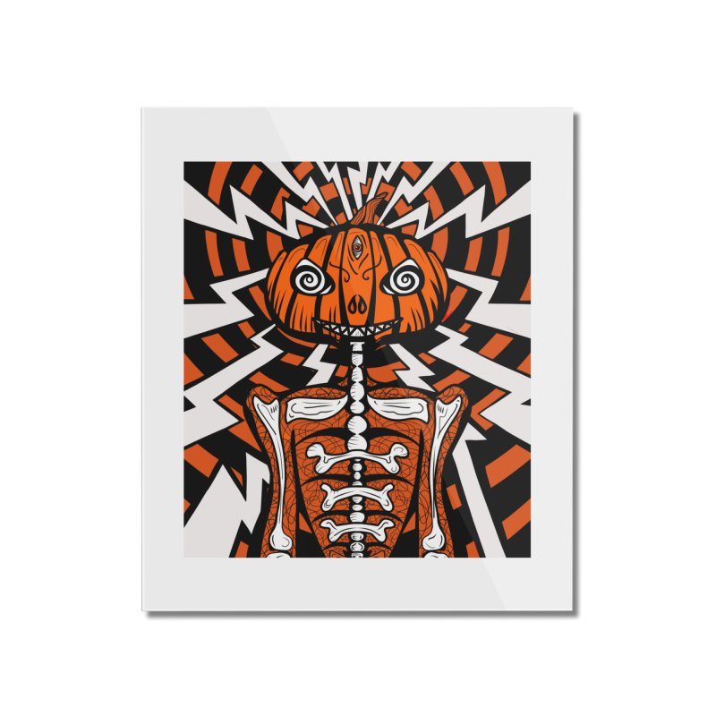 Mr Hypno-Pumpkin Home Mounted Acrylic Print by 57WEST