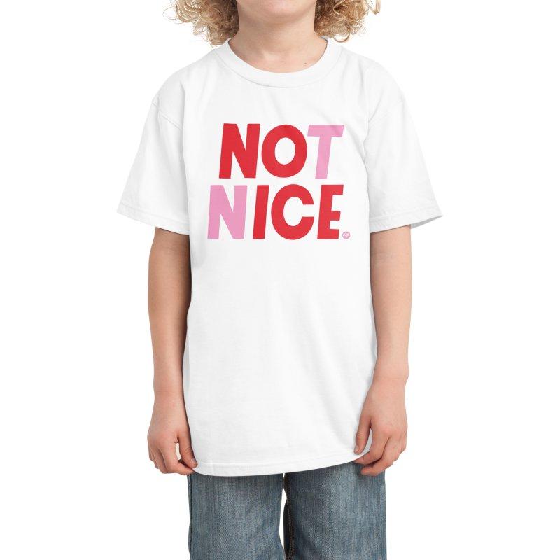 NO ICE NOT NICE Kids T-Shirt by 5 Eye Studio