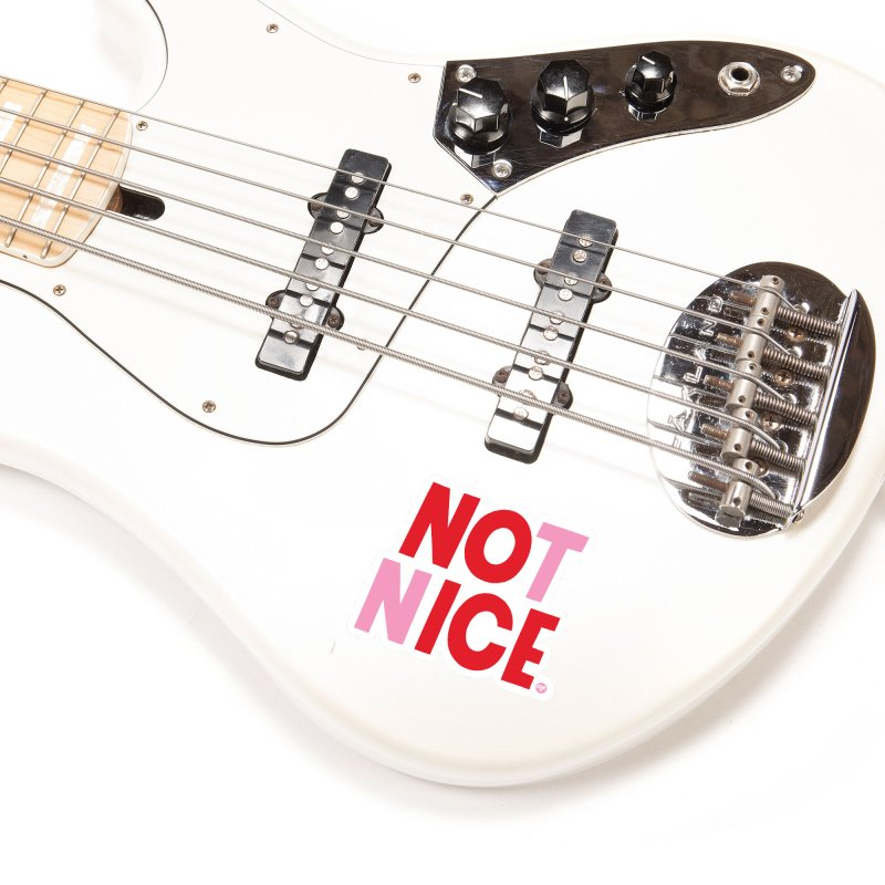 NO ICE NOT NICE Accessories Sticker by 5 Eye Studio