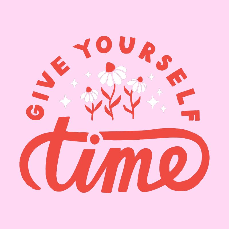Give Yourself Time Accessories Greeting Card by 5 Eye Studio
