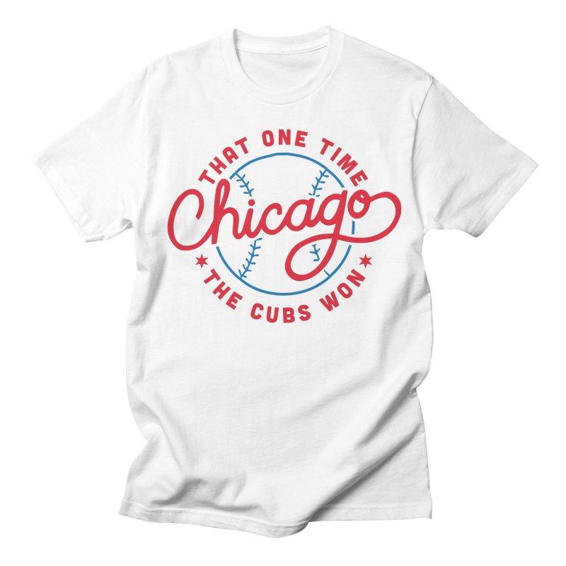 Chicago Cubs Champions Men's T-Shirt by 5 Eye Studio