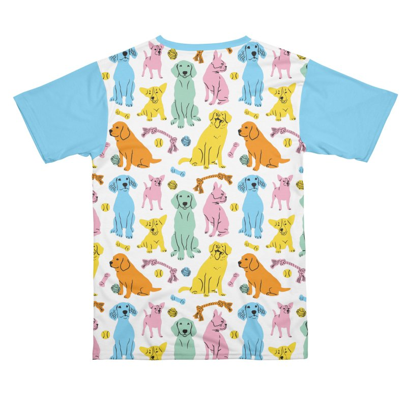 I'm Here for the Dogs - Rainbow Women's Cut & Sew by 5 Eye Studio