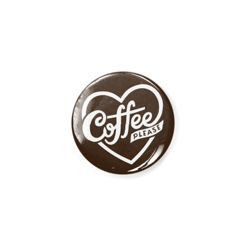 Coffee Please Masks + Goodies Button by 5 Eye Studio