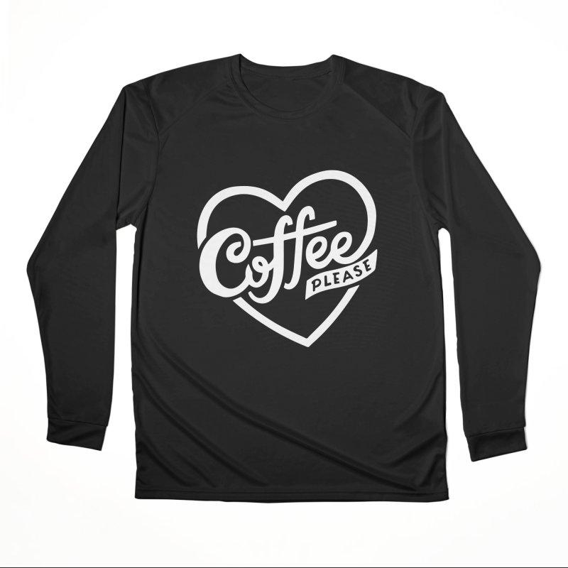 Coffee Please Men's Longsleeve T-Shirt by 5 Eye Studio