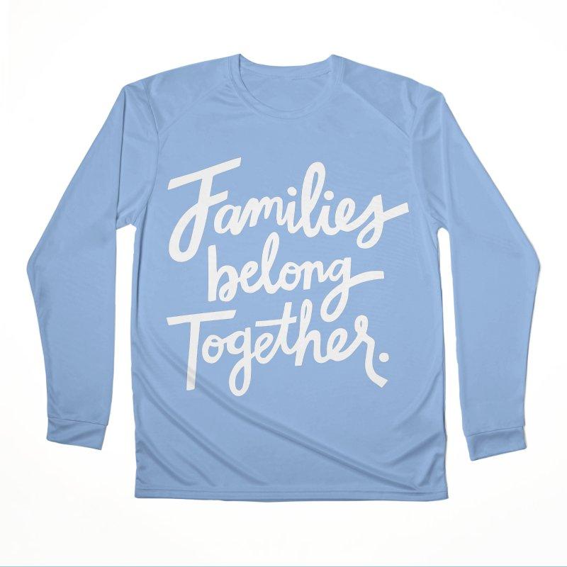 Families Belong Together Men's Longsleeve T-Shirt by 5 Eye Studio