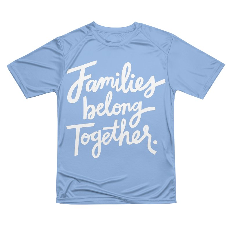 Families Belong Together Men's T-Shirt by 5 Eye Studio