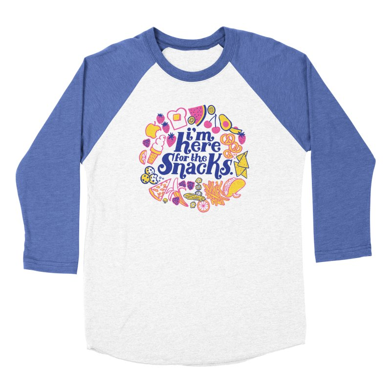 Here for the Snacks Men's Longsleeve T-Shirt by 5 Eye Studio
