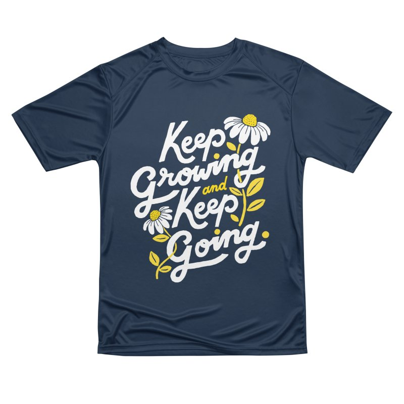 Keep Growing, Keep Going Women's T-Shirt by 5 Eye Studio