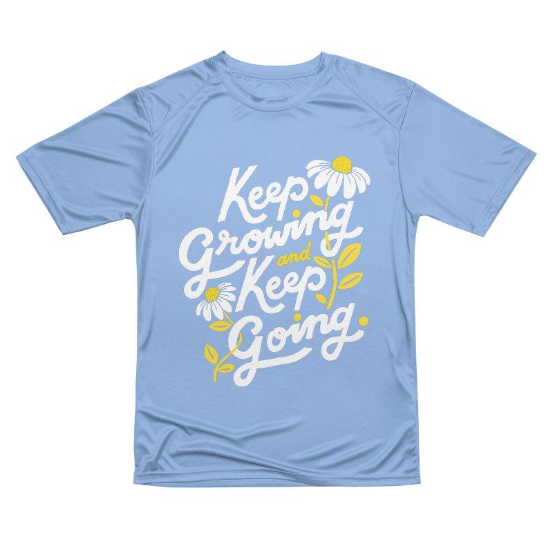 Keep Growing, Keep Going Men's T-Shirt by 5 Eye Studio