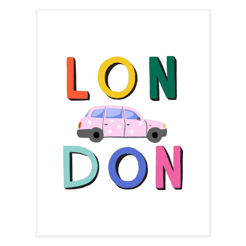 London Home Fine Art Print by 5 Eye Studio
