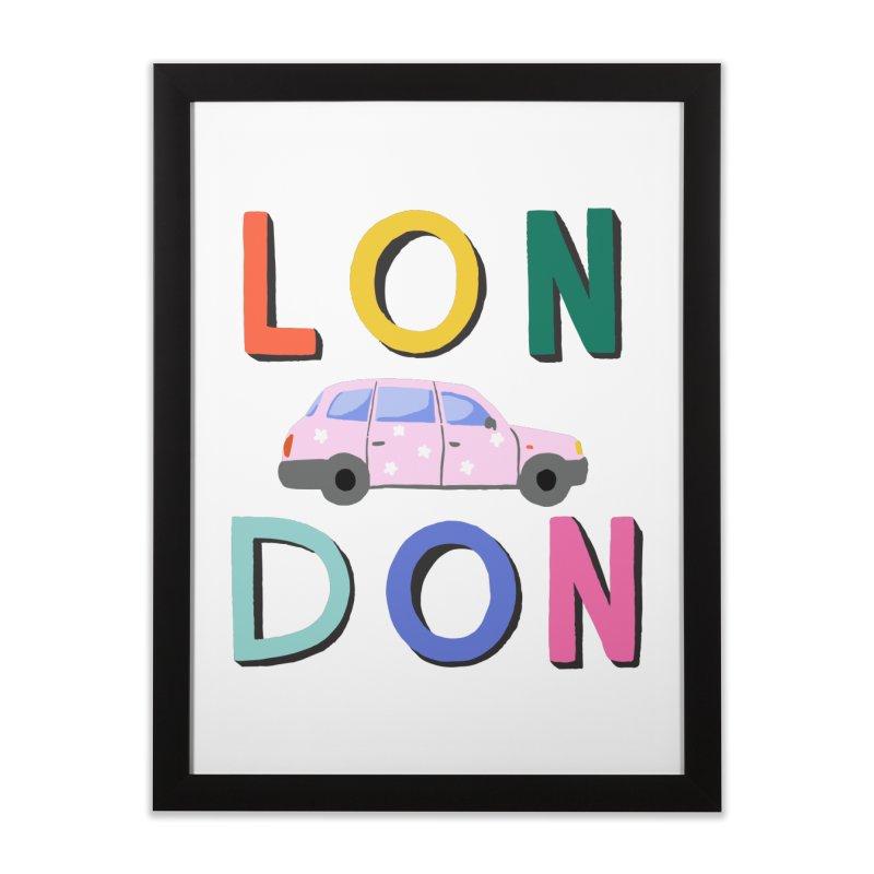 London Home Framed Fine Art Print by 5 Eye Studio