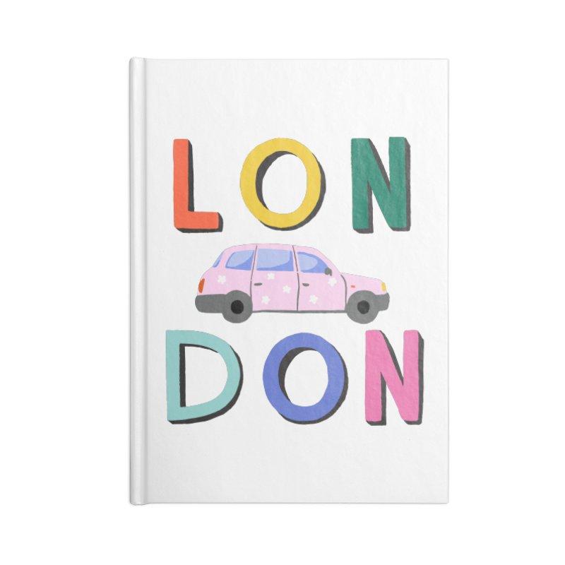 London Accessories Notebook by 5 Eye Studio