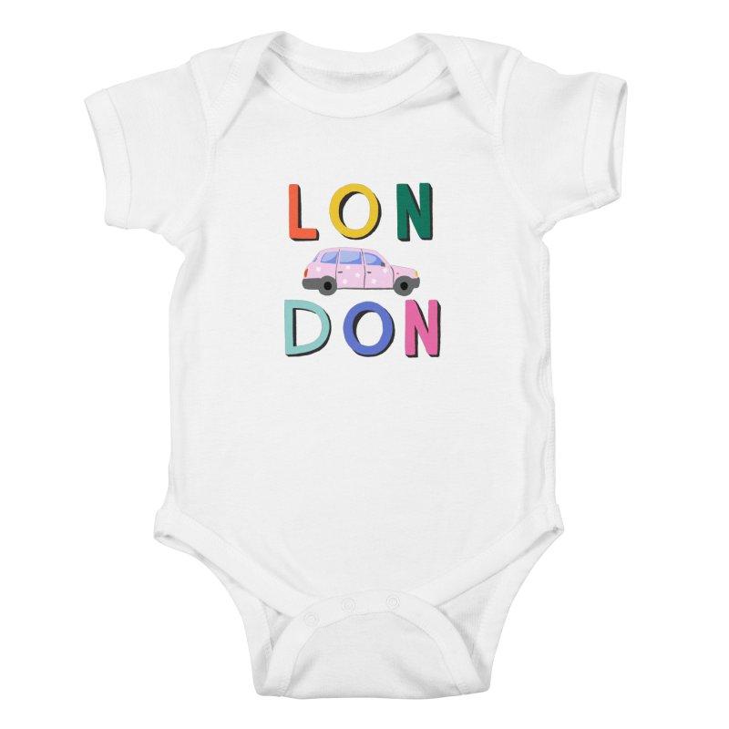 London Kids Baby Bodysuit by 5 Eye Studio
