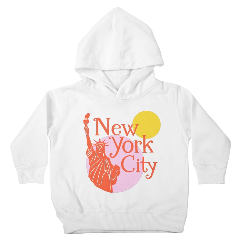 Lady Liberty Kids Toddler Pullover Hoody by 5 Eye Studio