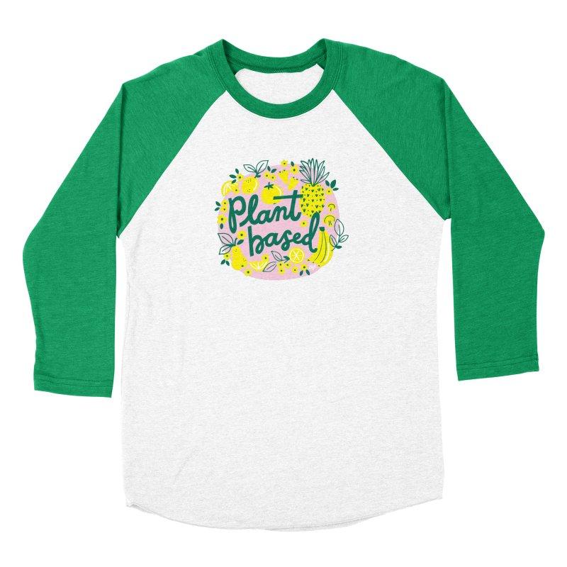 Plant Based Men's Longsleeve T-Shirt by 5 Eye Studio