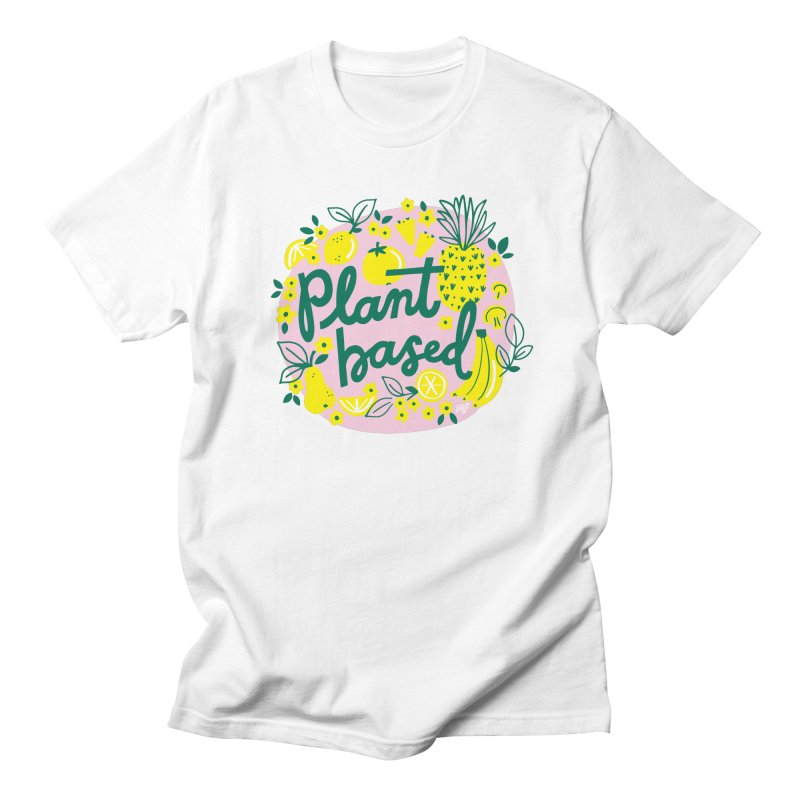 Plant Based Men's T-Shirt by 5 Eye Studio