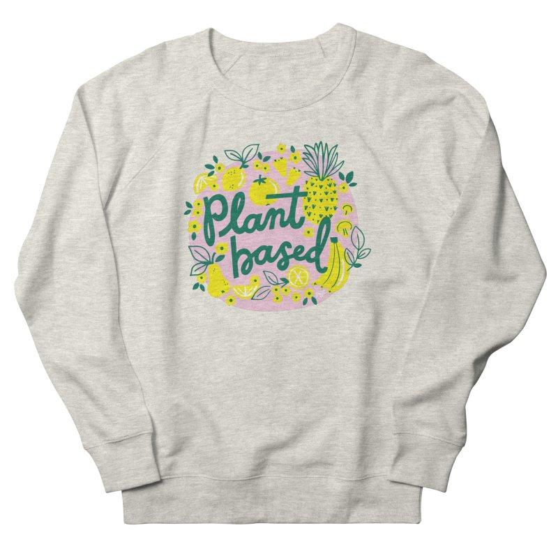 Plant Based Women's Sweatshirt by 5 Eye Studio