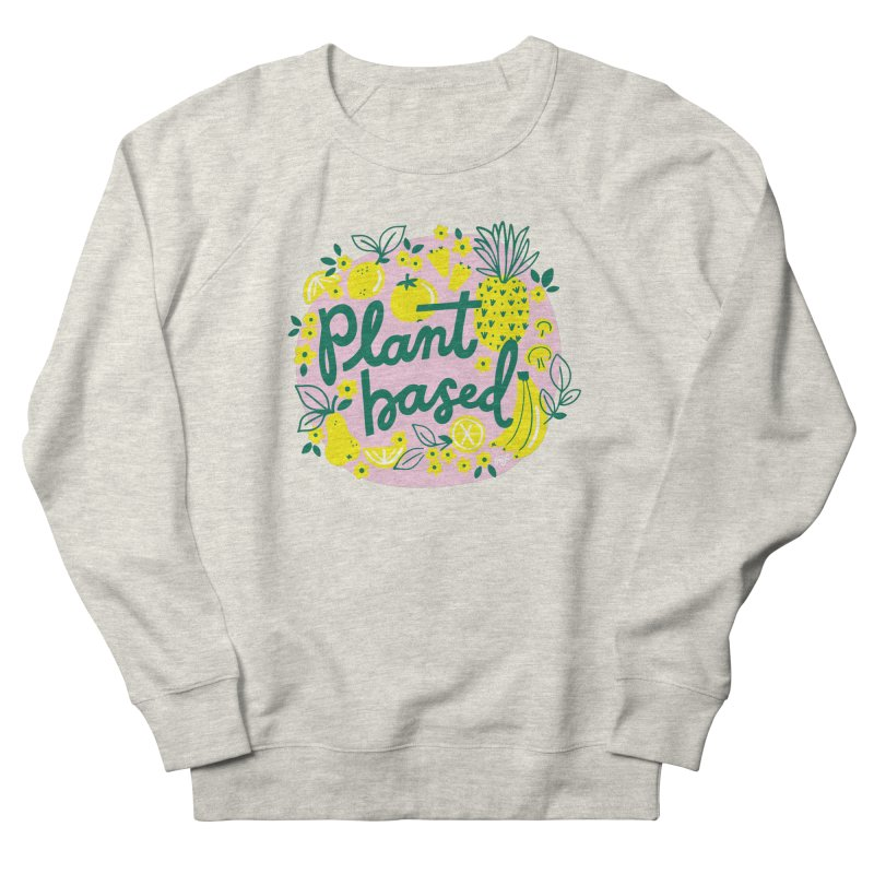 Plant Based Men's Sweatshirt by 5 Eye Studio