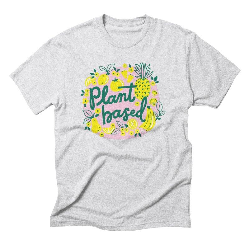 Plant Based Men's T-Shirt by 5 Eye Studio