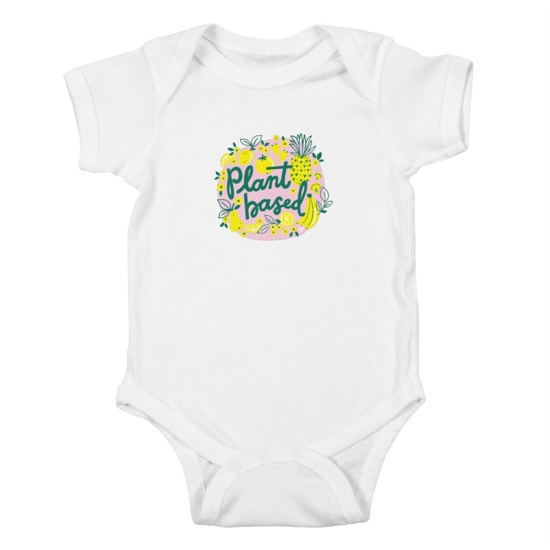 Plant Based Kids Baby Bodysuit by 5 Eye Studio