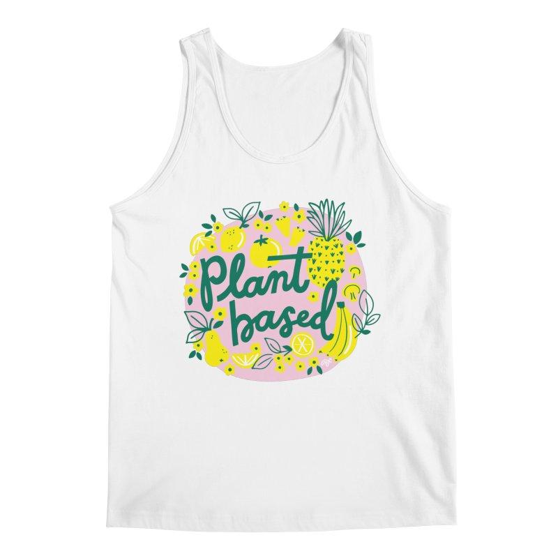 Plant Based Men's Tank by 5 Eye Studio