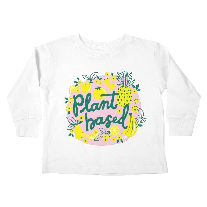 Plant Based Kids Toddler Longsleeve T-Shirt by 5 Eye Studio