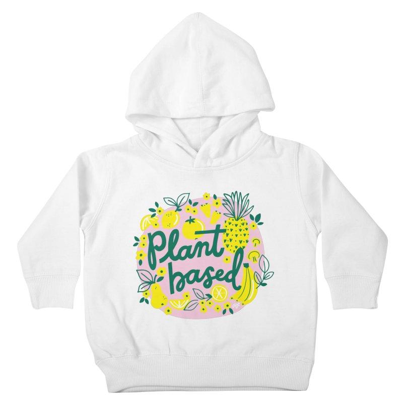 Plant Based Kids Toddler Pullover Hoody by 5 Eye Studio