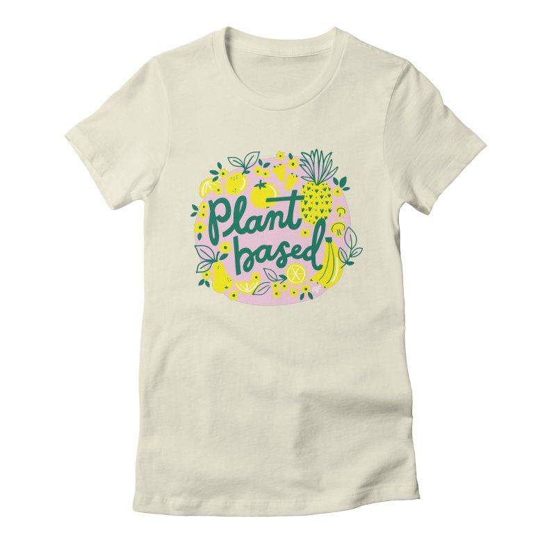 Plant Based Women's T-Shirt by 5 Eye Studio