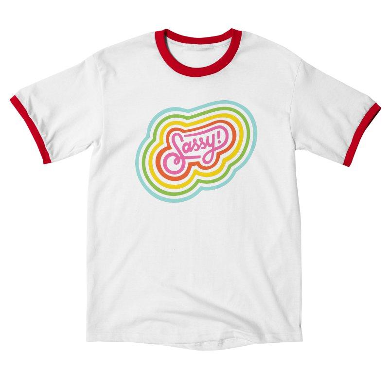 Sassy Rainbow Women's T-Shirt by 5 Eye Studio