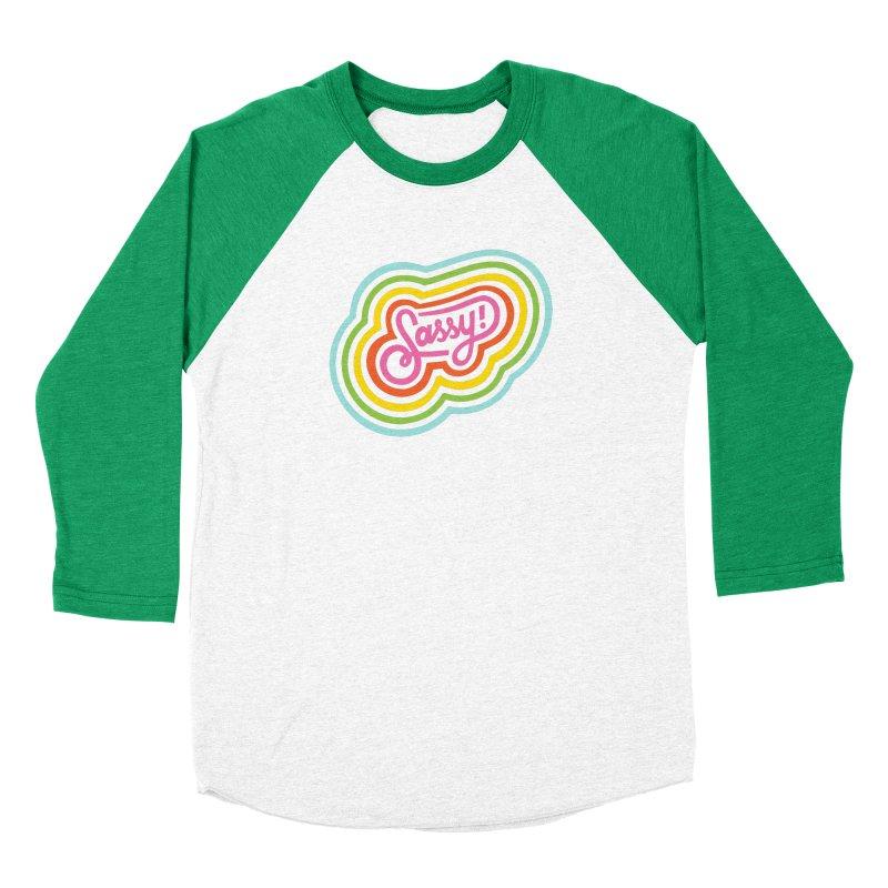 Sassy Rainbow Men's Longsleeve T-Shirt by 5 Eye Studio
