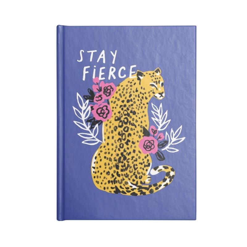 Stay Fierce Accessories Notebook by 5 Eye Studio