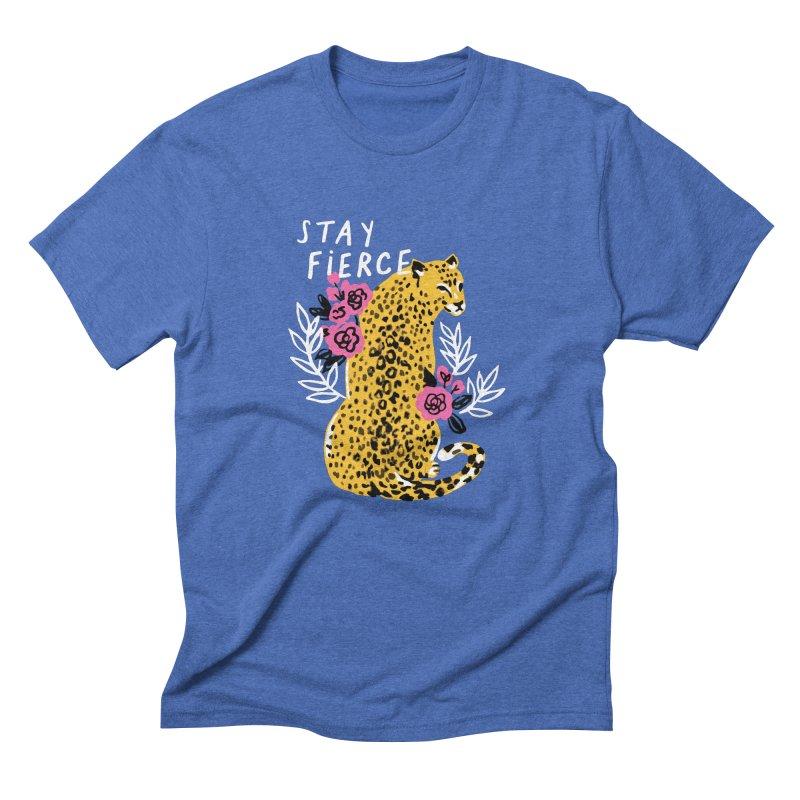 Stay Fierce Men's T-Shirt by 5 Eye Studio