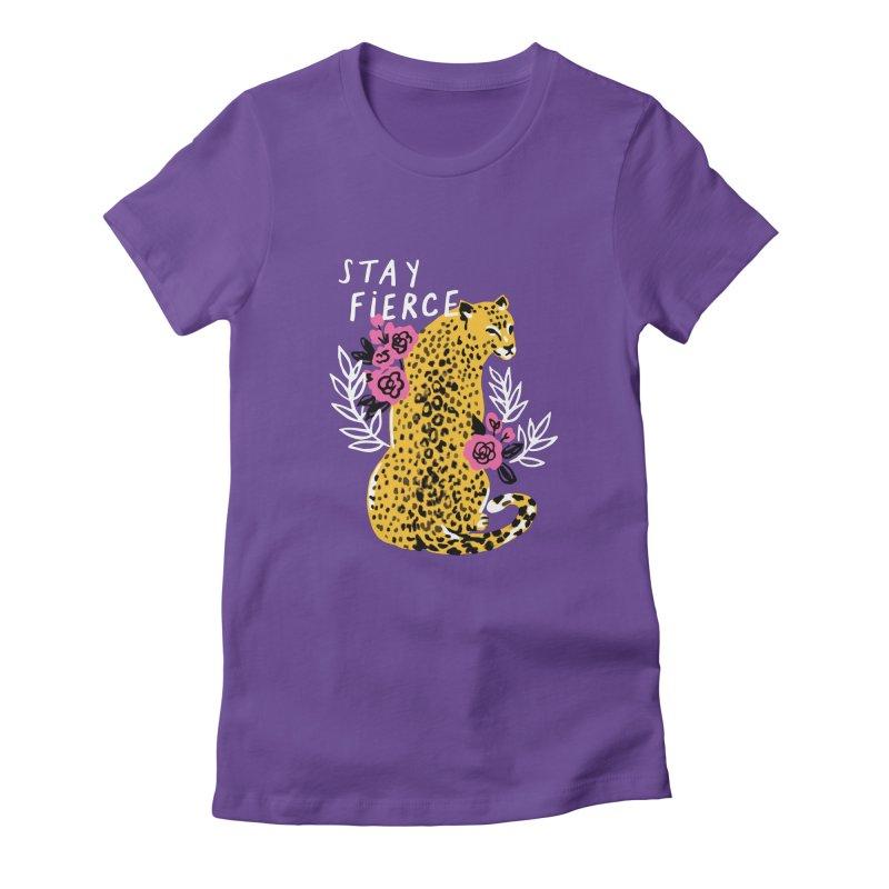 Stay Fierce Gals T-Shirt by 5 Eye Studio