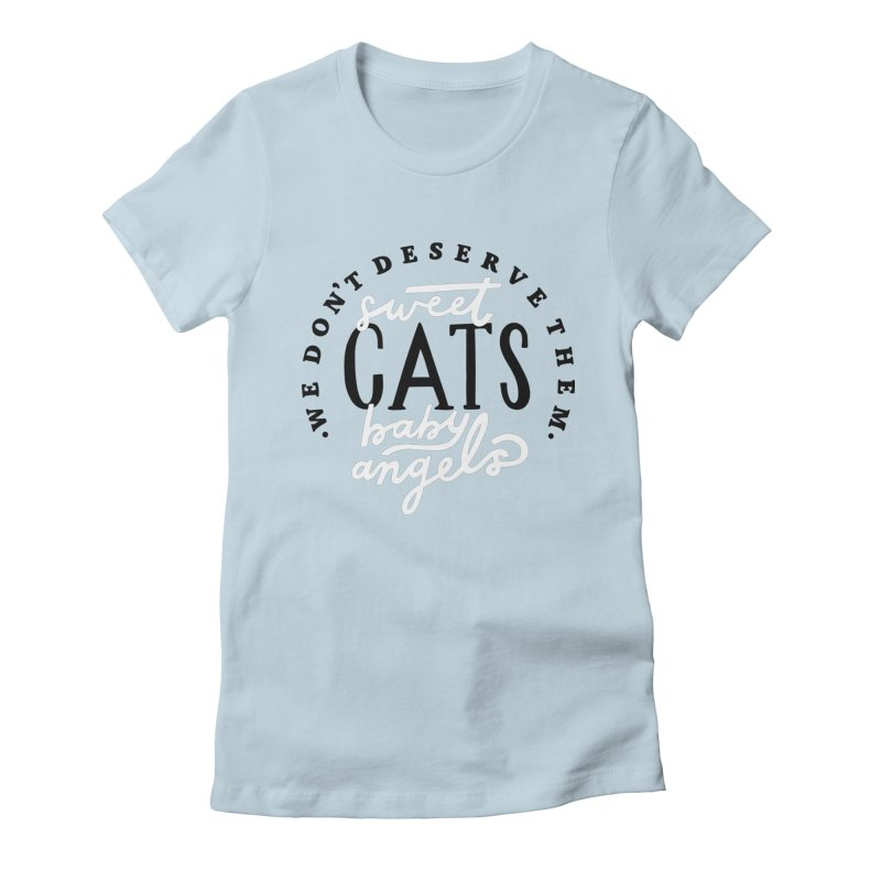 Sweet Baby Cats Gals T-Shirt by 5 Eye Studio