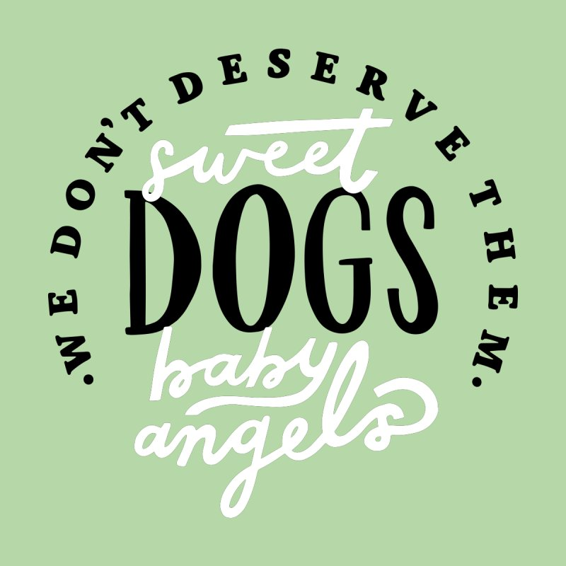 Sweet Baby Dogs Women's T-Shirt by 5 Eye Studio