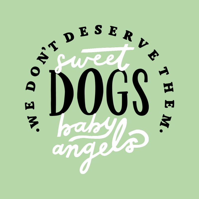 Sweet Baby Dogs Guys T-Shirt by 5 Eye Studio