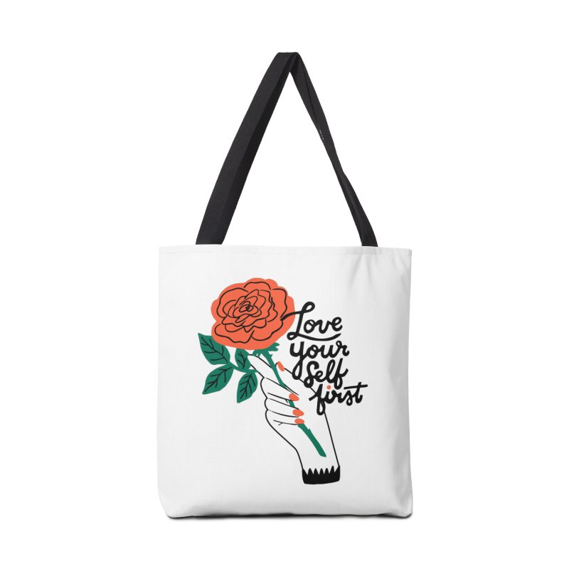 Love Yourself First Accessories Bag by 5 Eye Studio