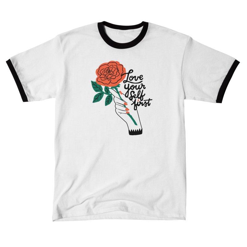 Love Yourself First Women's T-Shirt by 5 Eye Studio