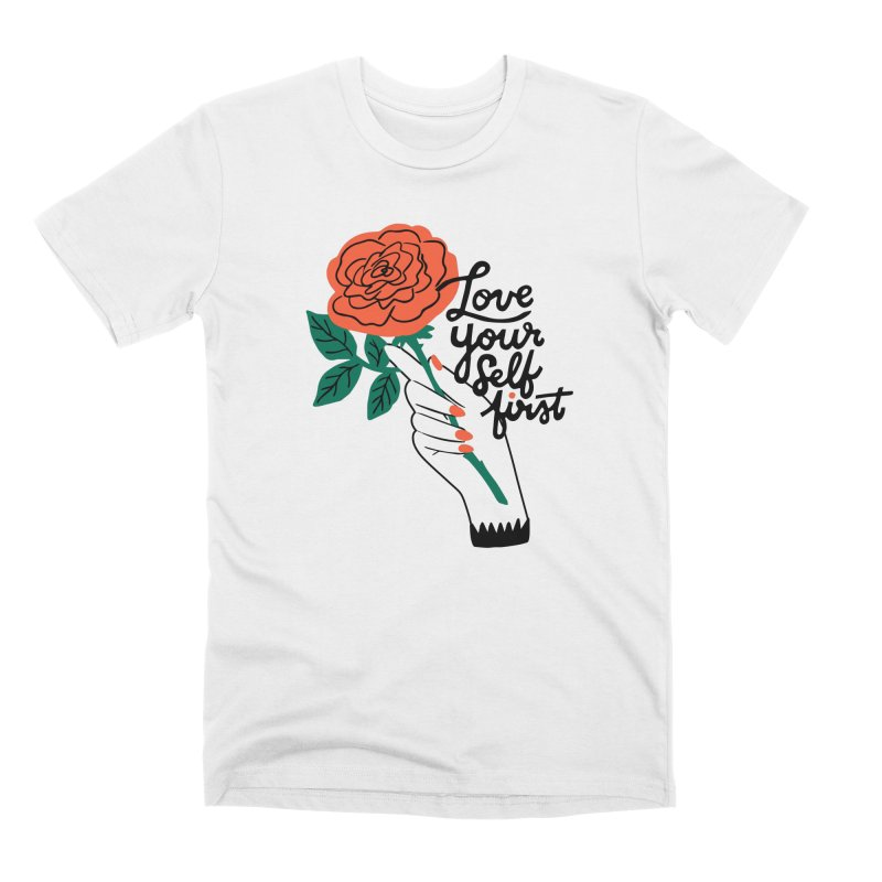 Love Yourself First Men's T-Shirt by 5 Eye Studio